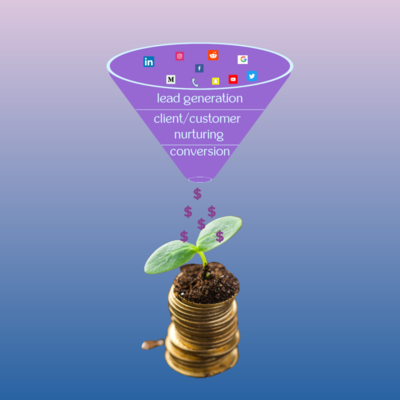 put effort into your sales funnel and your business will grow